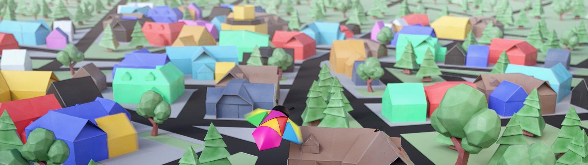 Cité de Créateurs animation 3D studio
